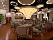 LED pendant lamp NAA D600-900-1200 DB - Neonny