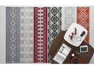 Patterned rectangular rug NADIRA - Calligaris