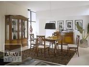 Tavolo allungabile in legno massello NAIMA | Tavolo quadrato - Arvestyle
