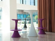 Round polyethylene high table NANÀ | High table - TWENTYFIRST LIVINGART by Elbi S.P.A.