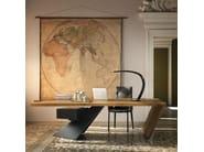 Wooden writing desk with drawers NASDAQ - Cattelan Italia