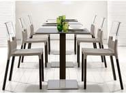 Square table NATURAL TIFFANY - SCAB DESIGN