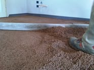 Screed and base layer for flooring NATURPAV - Terragena