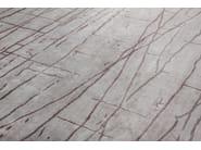 Patterned handmade rectangular rug NAZCA PASTEL - EDITION BOUGAINVILLE