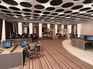 Hanging acoustical panels / pendant lamp NCA LINK3 D1000-1500-2000A | Pendant lamp - Neonny