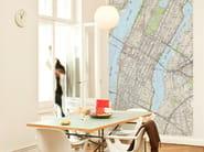 Motif non-woven paper wallpaper NEW YORK - EXTRATAPETE