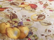 Washable printed cotton fabric with graphic pattern NINFEA - FRIGERIO MILANO DESIGN
