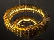LED metal pendant lamp NIVALA CHANDELIER - Cameron Design House