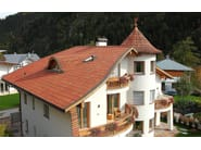 Clay bent roof tile NO LIMITS - FORNACE LATERIZI VARDANEGA ISIDORO