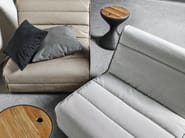 Modular technical fabric garden armchair NOMAD | Modular easy chair - Gloster