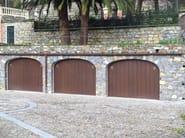 Up-and-over wooden garage door NORMAL - DE NARDI