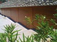 Up-and-over wooden garage door NORMAL PLUS - DE NARDI