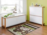 Wooden bench / shoe cabinet NORTHGATE | Shoe cabinet - Woodman