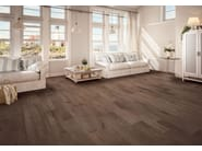 Porcelain stoneware flooring with wood effect NOTE BROWN - CERAMICHE KEOPE