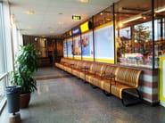 Bench seating with back NOVA C SENIOR - Green Furniture Concept