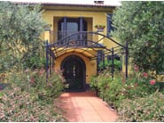 Freestanding iron pergola NOVECENTO | Freestanding pergola - UNOSIDER