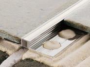 Giunto per pavimento in alluminio NOVOJUNTA® METALLIC SLIMM | Giunto per pavimento in alluminio - EMAC Italia