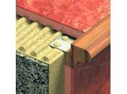 Aluminium Step nosing NOVOPELDAÑO® FRONT 2 | Aluminium Step nosing - EMAC Italia