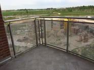 Aluminium Window railing NUOVO PALADINA - ALUSCALAE