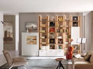 Sectional lacquered storage wall NURIA - Hülsta-Werke Hüls