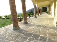 Natural stone outdoor floor tiles Natural stone outdoor floor tiles - Garden House Lazzerini