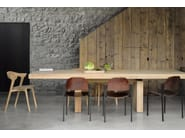 Extending rectangular oak dining table OAK OSSO | Extending table - Ethnicraft