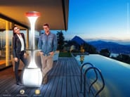 Outdoor heater / misting system OASI BASE - Enjoy your Life by Idrobase Group