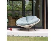 Poltrona da giardino imbottita LUNA 23291 - SKYLINE design