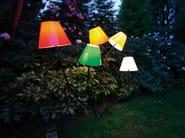 With swing arm plastic Floor lamp OCTOPUS OUTODOOR - Top Light