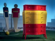 Chest of drawers custom made feature high end furniture - Football Collection - Modenese Gastone