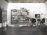Glazed stoneware flooring with concrete effect OFICINA - Cooperativa Ceramica d'Imola S.c.
