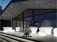 3 seater polyethylene garden sofa OHLA SOFA LIGHT - PLUST Collection by euro3plast