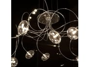 Chrome plated pendant lamp OKTOPUS - Cattelan Italia