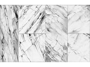 Waterproof glass-fibre wallpaper with marble effect OLIMPO - Wall&decò