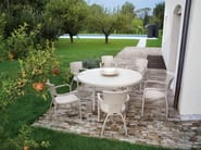 Garden chair with armrests OLIVER | Chair with armrests - Atmosphera