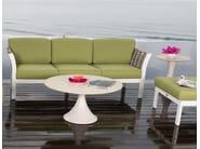 Tavolino da giardino rotondo per contract OLIVIA 23258 - SKYLINE design