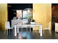 Extending rectangular table OMNIA XXL - Calligaris