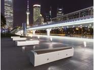 Modular backless Bench ONDA | Backless Bench - Bellitalia
