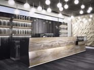 Rivestimento in gres porcellanato effetto marmo per interni ONICE PERLA | Rivestimento - FMG Fabbrica Marmi e Graniti