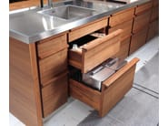 Linear fitted kitchen ONLY-ONE - Riva 1920