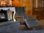 Reclining chair with footstool OREA - Jori