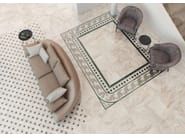 Porcelain stoneware flooring with marble effect ORIO - Museum