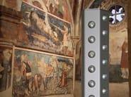 LED floor lamp ORIONE PLUS LED   Floor lamp - Tecnoilluminazione