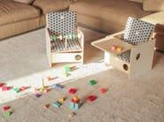 Birch kids chair OSIT + TRAY - nuun kids design