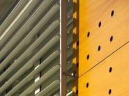 Aluminium solar shading OVERSUN - ALsistem