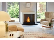 Freestanding bioethanol fireplace OXYGEN - EcoSmart Fire