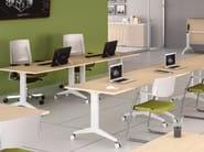 Rectangular office desk OYO | Office desk - Las Mobili