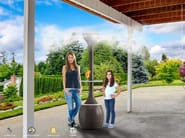 Outdoor heater / misting system OASI - Enjoy your Life by Idrobase Group