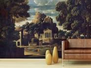 Contemporary style landscape paper wallpaper PAESAGGIO CON LA MOGLIE DI FOCIONE - Wallpepper