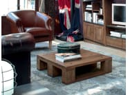Contemporary style wooden coffee table for living room PALLET | Coffee table - Devina Nais